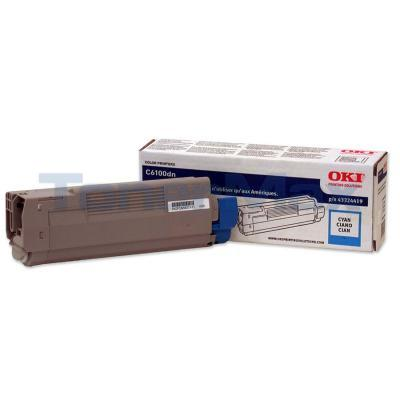 OKIDATA C6100 TONER CARTRIDGE CYAN